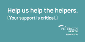 Help us Help the Helpers graphic